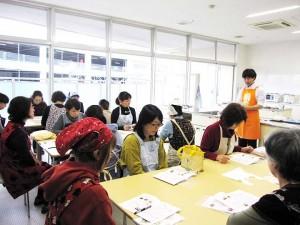 岩倉市生涯学習センターで「手軽においしくキムチ手づくり講座」を開催しました!
