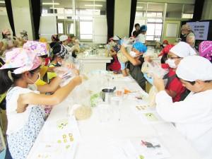 新蟹江小学校で「たのしいぬか漬教室」を開催しました!