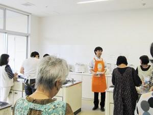 岩倉市生涯学習センターにて「手軽においしくぬか漬け講座」を実施しました。
