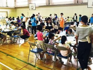 野並小学校にて「たのしいぬか漬教室」を実施しました。