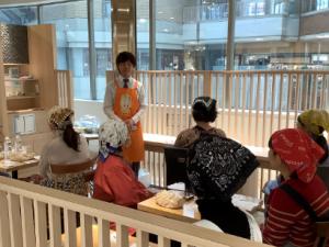 宝塚阪急にて「たのしいぬか漬教室」を開催しました!