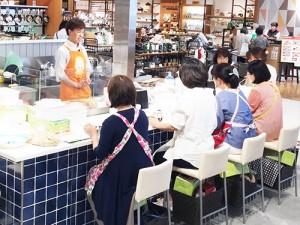 阪急阪神百貨店 で「たのしいぬか漬教室」を開催しました!