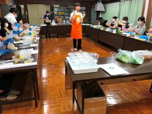 食育活動 野菜とぬか漬教室